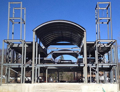 Coptic Orthodox Church build frame