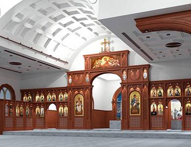 Коптская Православная Церковь 3D дизайн