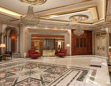 Private Palace And Majlis family setting design