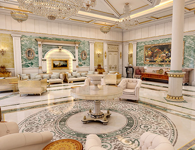 Private Palace And Majlis design