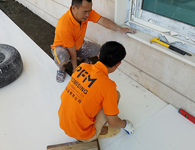 Private Palace And Majlis installing