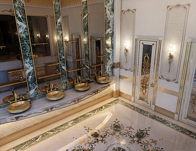 Private Palace And Majlis bathroom