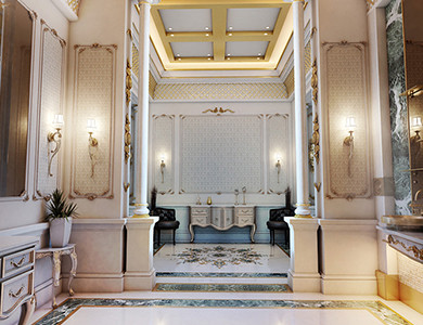 Private Palace And Majlis bathroom design