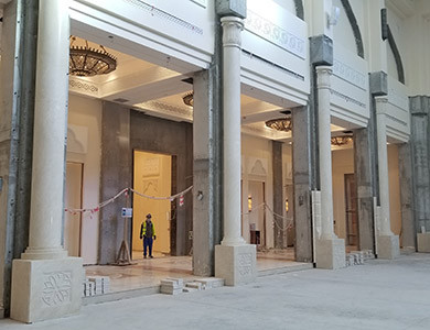 Qatar Mosques Project Mosque Under Installation by pfm