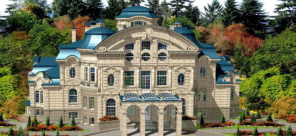 Instalación privada exterior e interior de villa privada en Tayikistán