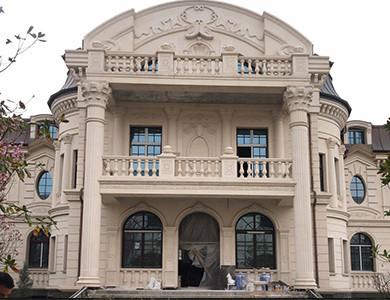 Tayikistán Private Villa pared exterior de piedra caliza