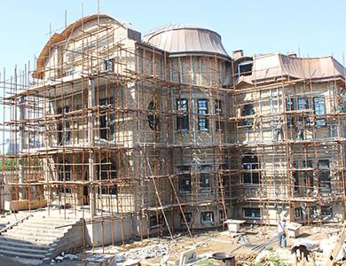 -Debajo de la instalación Villa privada de Tayikistán