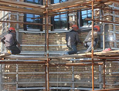 -Tayikistan SPA HAYOT revestimiento exterior de granito