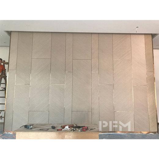 Villa's Interior Wall Decoration