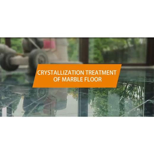 PFM Crystallization treatment of marble flooring
