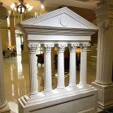 Baroque architecture element decoration material natural stone pediment