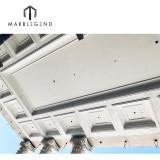 Custom Luxury Palace Curtain Wall PVC Ceiling Panel GRG Mansion Coffer Ceiling Tile