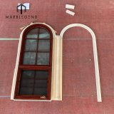 Exterior facade decoration natural stone carving single and double arch window surroud