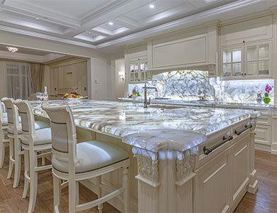 white quartz countertop