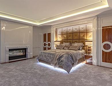 modern style bedroom design