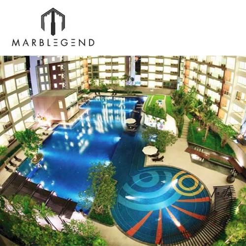 Custom design beautiful blue glass mosaics tile for big swimming pool park party resort pool