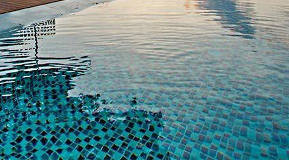 PFM swimming pool glass mosaic