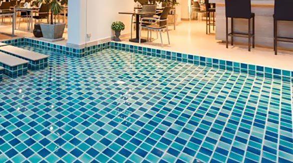 factory direct beautiful blue sea glass