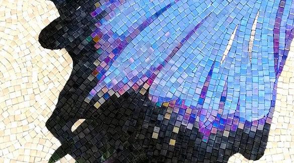 PFM art mosaic mural