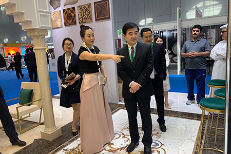 PFM In Project Qatar 2019- Chinese Ambassador of Qatar Mr. Lee Chen