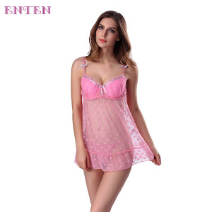 Classy Underwear Pinky Ladies Adult Teddy Sexy Lingerie