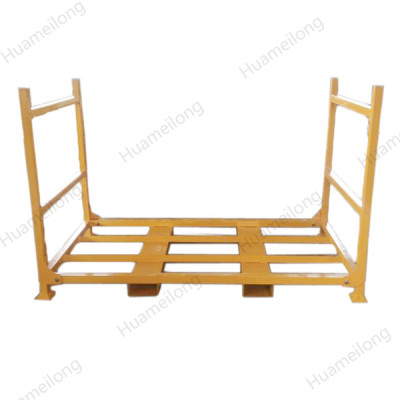Industrial heavy duty detachable stack metal steel truck tyre storage stillages for sale