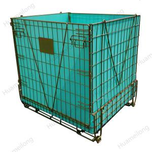 Recipiente industrial de pré-fabricados de grandes metais para armazenamento