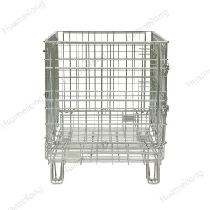 HML OEM high quality euro style fireproof stable secure storage wine wire mesh container