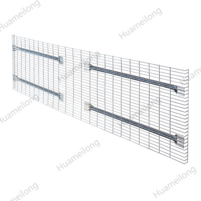 Industrial worldwide powder coated metal grid wire mesh decking panels for documents/ boxes storage