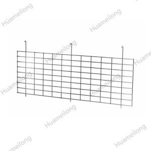Warehouse storage hanging metal wire mesh decking dividers for rack