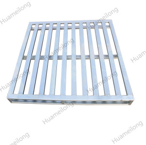 1200x1000 OEM 2 way heavy duty euro size stacking storage iron steel pallet manufacturers