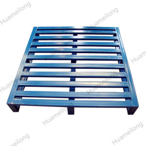 HML Powder coating warehouse transport storage stackable durable metal steel pallets for sale