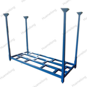Powder coating 2-way entry detachable commercial mild steel auto car tire storage racks system
