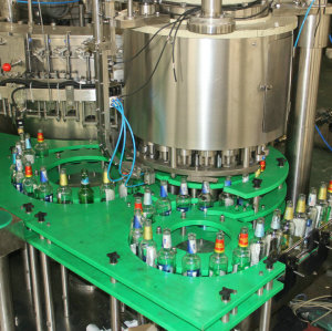 72 heads 25000 Bottles Per Hour fast beer bottle filling packing machine