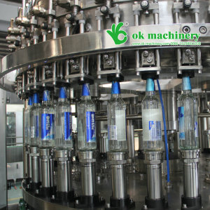 10000BPH  beer bottle filling and capping machine model 42 42 10