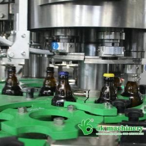 2500BPH beer bottle filling machine 16 16 6