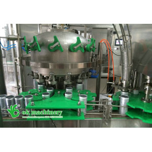 1500 cans per hour small can filling machine model 12 - 1