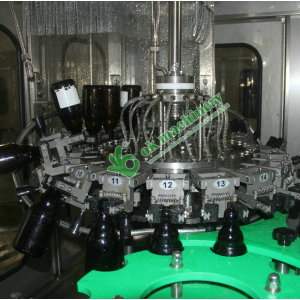 6000BPH beer filling and capping machine model 32 32 10
