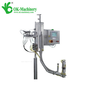 Automatic nitrogen injection system for bottle water