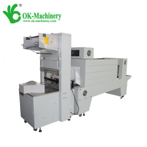 semi automatic shrink wrapping packing machine