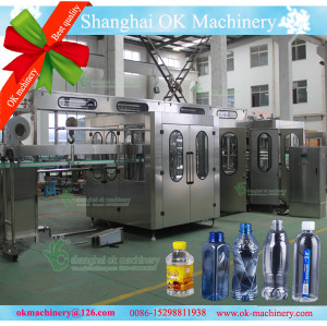 25000BPH water filling machine video XGF 50-50-15