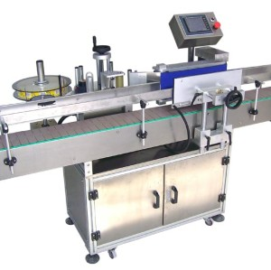 Automatic single Adhesive sticker labeling machine