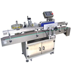 Automatic single Adhesive sticker labeling machine