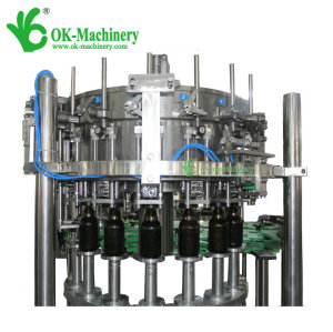 15000BPH Full automatic beer filling and sealing machine 60-60-15