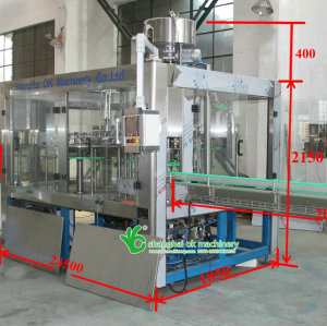 8000BPH automatic water filling machine price XGF 16-16-5