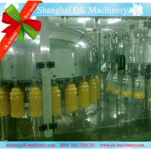 12000BPH juice bottle filling machine RXGF 24 24 8