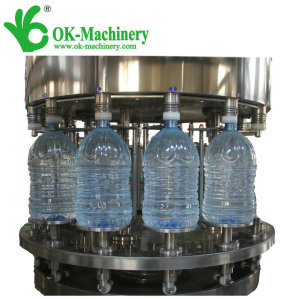 2000BPH rotary 5L - 10L big bottle water filling machine XGF12-12-4