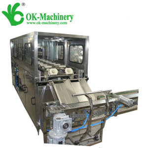 QGF-300 5 gallon water filling machine price/5 gallon water bottle plant line