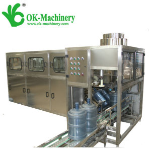 QGF-450 5 gallon bottle washing filling and capping machine