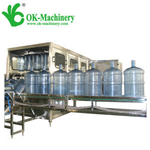 QGF-600 water filling machine(5 gallon)/20L barrel filling mahine